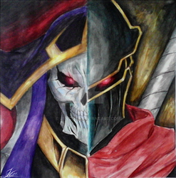 Overlord: Ainz Ooal Gown by JsnCstr
