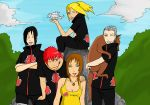 Light Hearted Akatsuki Color by l3xxybaby