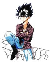 Cool Hiei by CalamityJade