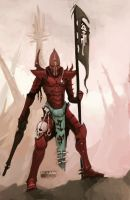 Dark Eldar Kabalite Warrior by Beckjann