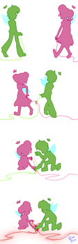 Tangled String by Minkerdoodle