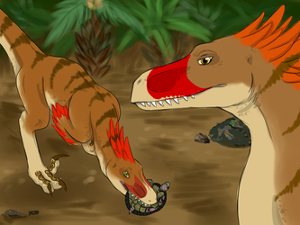 Raptor Red: Building the Pair-Bond by BlueWolf100996