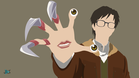 Migi and Shinichi - Parasyte: The maxim by JeffersonLS