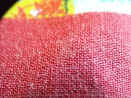 macro of table cloth by s3xyyy