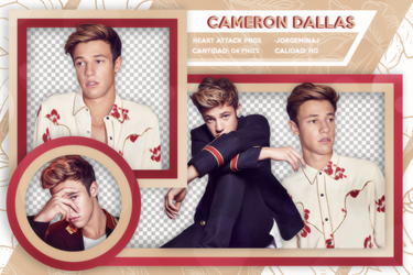 Pack png: Cameron Dallas by JorgeMinaj