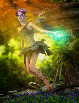 051514 Pixie by digitalgreenlifeart