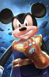 Mickey Thanos by ferryo