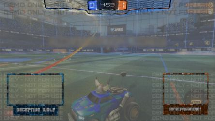 Twitch Overlay - Rocket League - Half-Width by somefriggnidiot