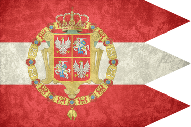 Poland-Lithuania ~ Grunge Flag (1587 - 1795) by Undevicesimus