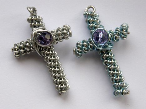 Wire crosses by XofHope