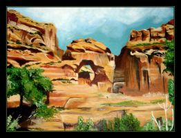 Canyon DeChelly by FallThruStardust