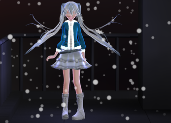 Snow Miku by Calculated-Lie