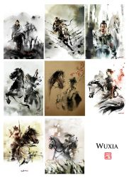 Wuxia Series Jan-Aug by Jungshan
