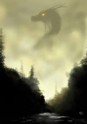 the mist dragon by andre-ma