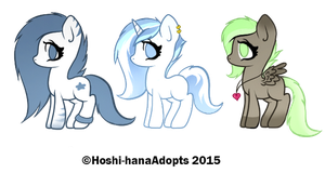 Pony Adopts Batch  :CLOSED: by SisAphe