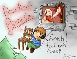 PewDiePie: F*ck this Sh*t! by ahitosinea