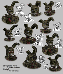 Springtrap Expression Sheet by TDLBallistic