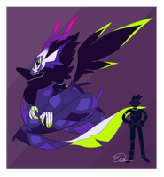 Gamzee Dragon by systemz3r0