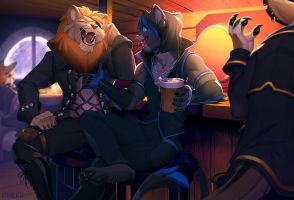 In the tavern by kyander