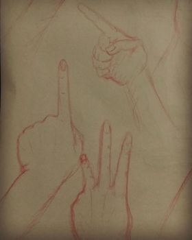 Six-fingered Hand Practice by MyNameIsLithium