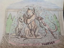 We Are Stuck TOGETHER by RainbowGuppy1
