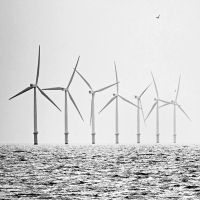 Monochrome Turbines by Coigach