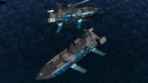 FS-11 'Archer' Hydrofoil by Helge129