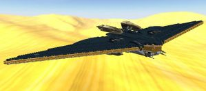 Azkaar-Class Executive Military Command Shuttle by AnthroktinGateway
