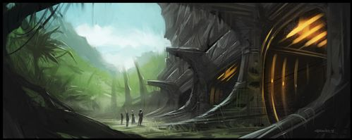 Temple by PReilly