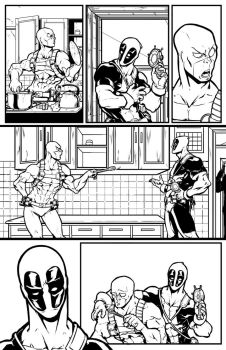 marvel test Deadpool 001 by salo-art