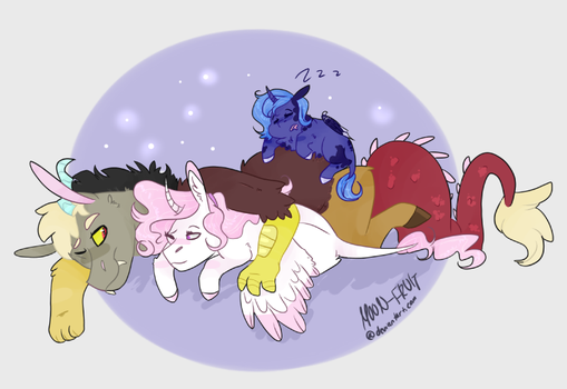 They sleep by M00N-FRUIT