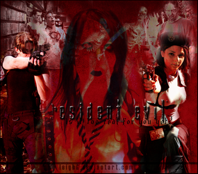 Resident Evil by Virtual-Waster-Art