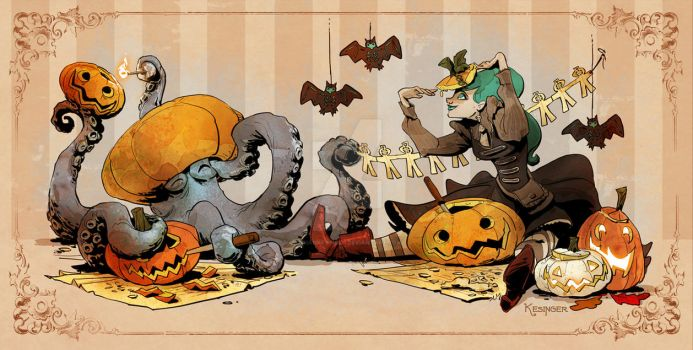 pumpkin carving by BrianKesinger