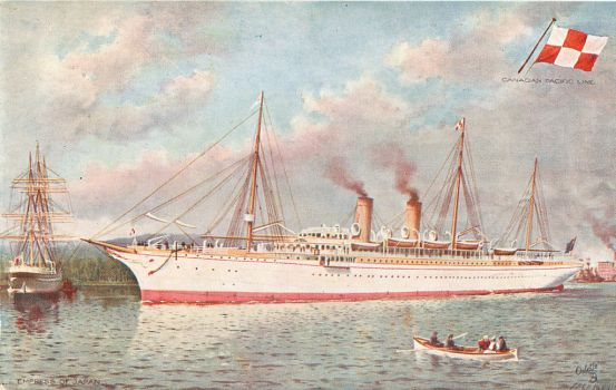 Canadian Pacific Line - Empress of Japan by Yesterdays-Paper