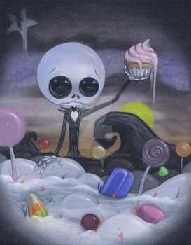 nightmare in candyland by coallus