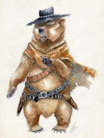 Bear Eastwood by Acualina