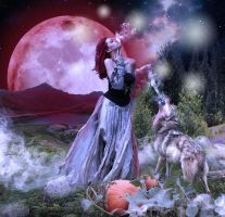 Howl to the Moon Spell by chevronguy