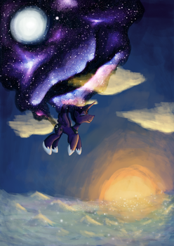 Luna Eclipse by Wendy-the-Creeper