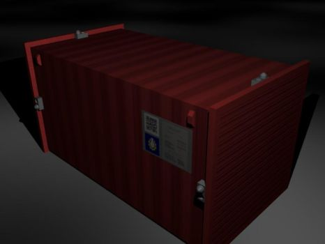 Shipping Container by xveers