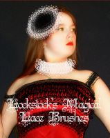 Magical Lace Brushes by lockstock
