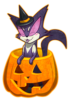 The Purr-fect Halloween by Songficcer