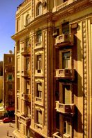 Architecture of Cairo by DavyiBowie