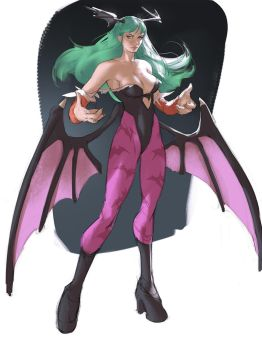 Morrigan by Ramonn90