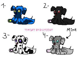 Puppies Adoptables 2 by buizelfight