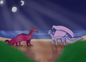 You're Not a SeaWing! by i-draw-dragon-things