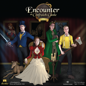 Encounter Board Game Art by lyteside