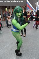 She hulk cosplay by Echo Endless by ECHOENDLESS