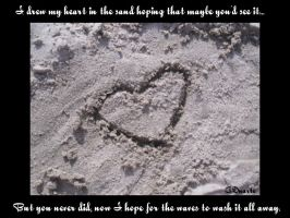 My Heart in the Sand by Tsuki--Sama