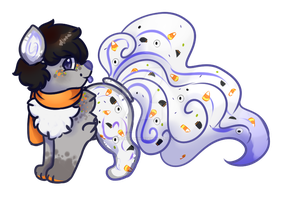 Containimals advent callender: Haloween bark by livesfordrawings