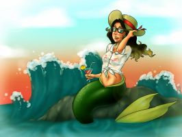 Mermaid Giftcard by Mtotheartin